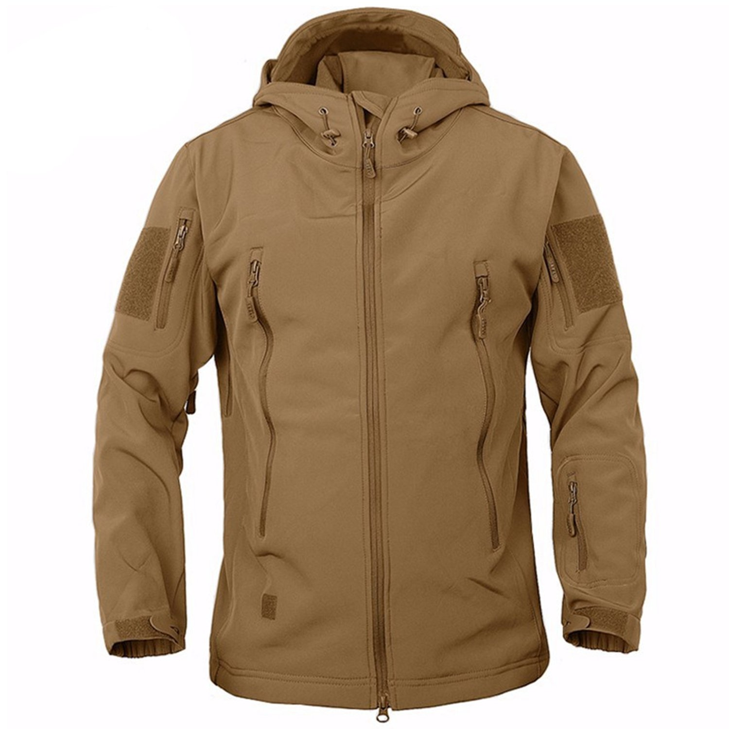 BELLOO Men Combat Jacket Waterproof Softshell Fleece Jacket With Hood BELLOO INT'L