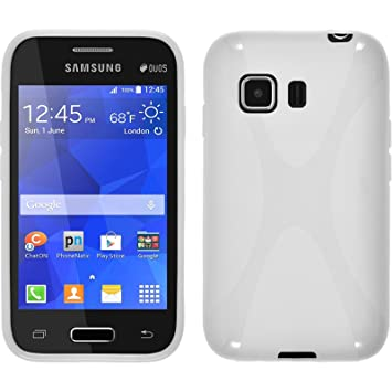 PhoneNatic Funda de silicona para Samsung Galaxy Young 2 ...