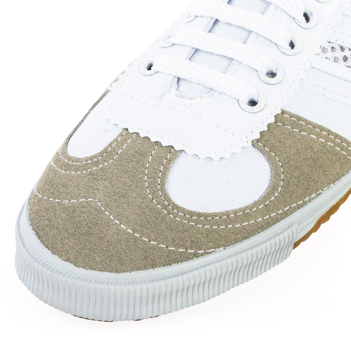 Wu Designs Shuang Xing - Artes Marciales - Wushu - Zapatillas deportivas & y de parcour - zapatillas minimalistas, color Weiss, tamaño 46: Amazon.es: ...
