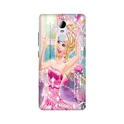 Yashas Barbie Doll Printed Designer Plastic Hard Back Cover for Xiaomi  Redmi Note 4