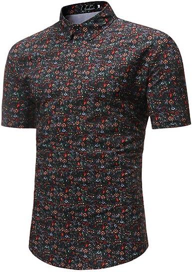 Fannyfuny camiseta Hombres Casuales Manga Corta Camiseta Soltero Botón Abertura Llano Deportivas Camisas Básica de Calidad Diseño Original Hombre Caballero: Amazon.es: Ropa y accesorios