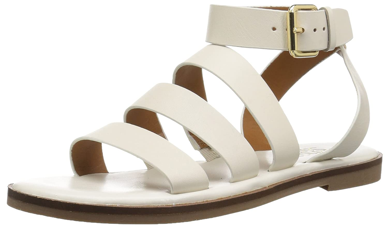 Franco Sarto Women's Kyson Flat Sandal B078VJ7LWR 9 B(M) US|Milk