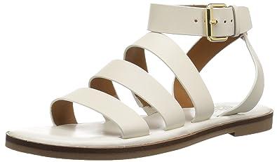1f6154b9f284 Amazon.com  Franco Sarto Women s Kyson Flat Sandal  Franco Sarto  Shoes