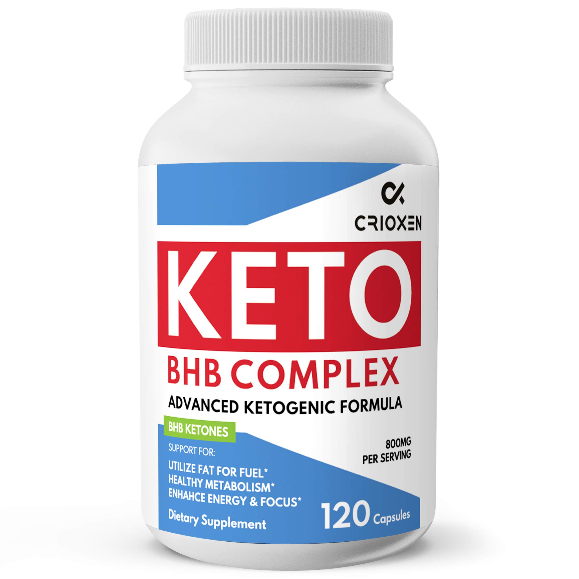 Pure Keto Diet Pills 120 Capsules- Advanced Keto Supplement Pure BHB Exogenous Instant Ketones Salts to Kickstart Ketosis Boost Energy and Focus for Men and Women 60 Day Supply