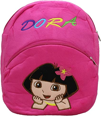 Shopperz Plush Dora Bag Soft Toy (Pink)