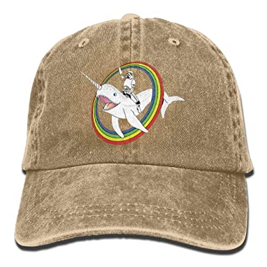 Narwhal Rainbow Stormtrooper Plain Washed Dad Solid Cotton Polo ...