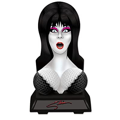 Beistle Elvira Bust Centerpiece: Toys & Games