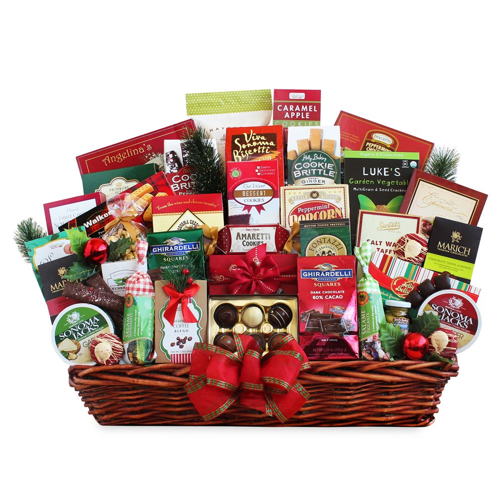 California Delicious For The Gang Appreciation Gourmet Gift Basket