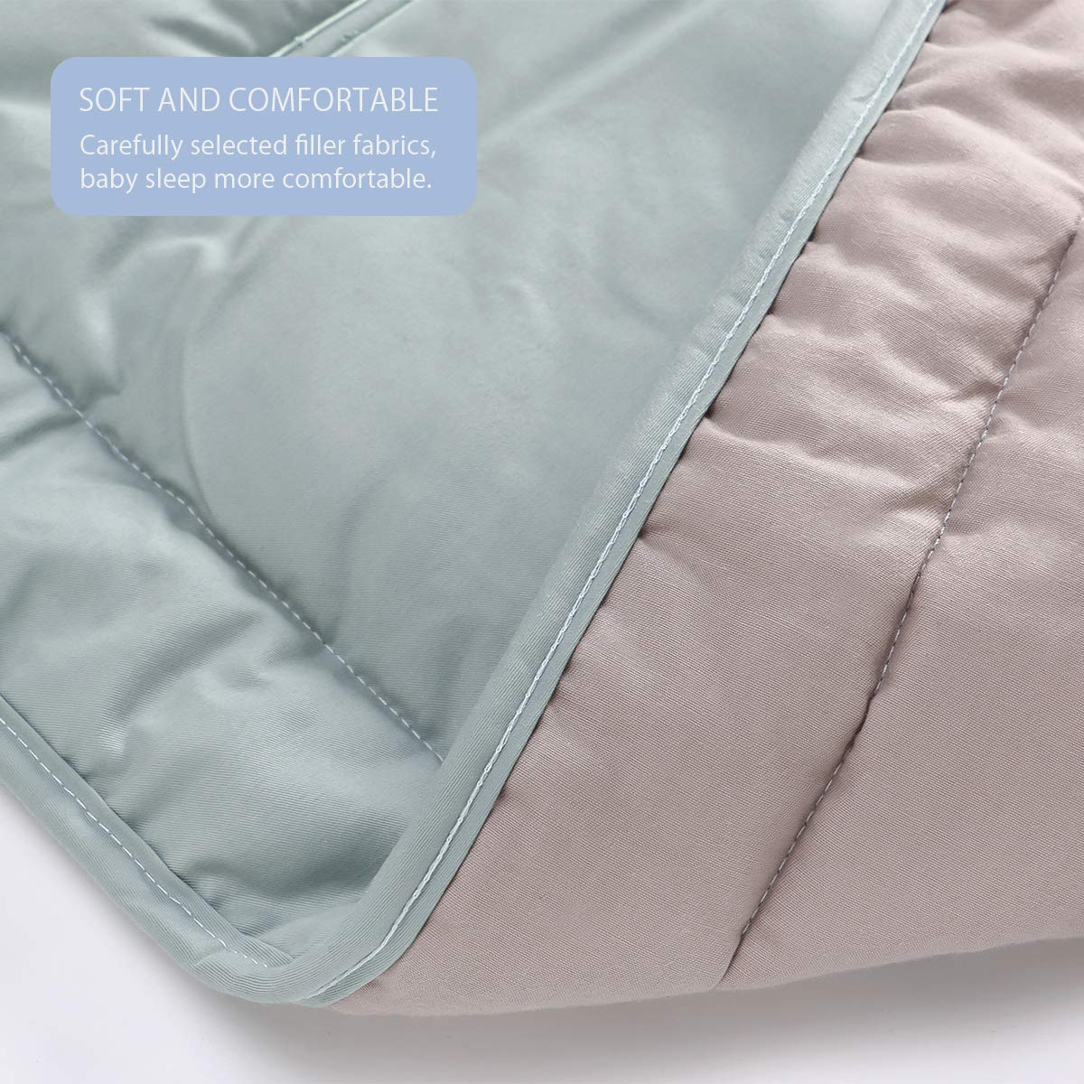Absorbant Bleu SONARIN Universel Coussin de Si/ège pour Poussette,100/% coton,Doux et r/éversible,Infant Coussin Pad,Anti-transpiration Respirant