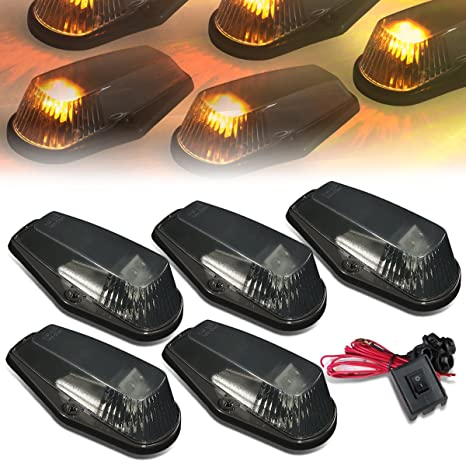 Tremendous Amazon Com Dna Motoring Cbl F15080 Sm Y Led Cab Roof Top Marker Wiring Cloud Oideiuggs Outletorg