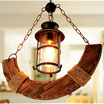 E27 Lampe Suspension Rétro Suspension Vintage Edison Loft Lustre