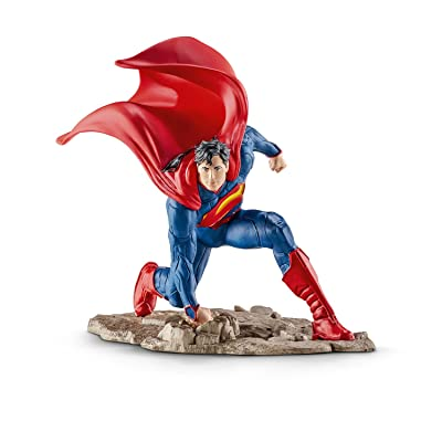 SCHLEICH Superman Kneeling Action Figure: Schleich: Toys & Games