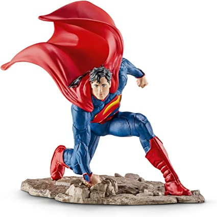 Schleich Justice League Action Figure #12 Superman #22504 Hand Painted NIB