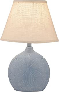 product image for Coast Lamp Weathered Wedgewood Blue Sand Dollar Accent lamp
