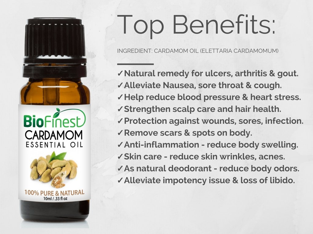 Watch 15 Amazing Benefits Of Cardamom Oil For Skin, Hair And Health video