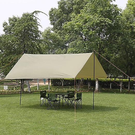 ZBW Toldo Verde Militar Tienda de campaña Playa sombrilla de Pesca Sol Simple pérgola toldo: Amazon.es: Jardín