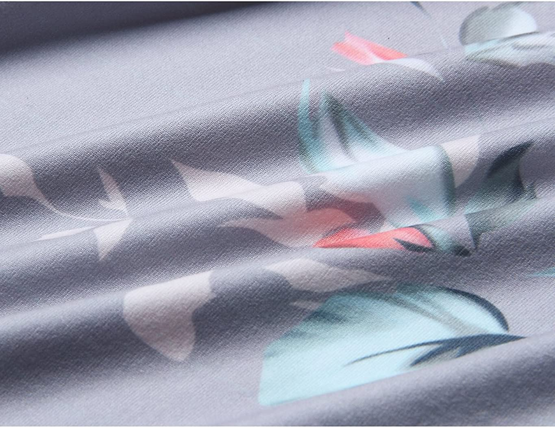 t/única sin mangas Top de verano para mujer cuello redondo con estampado de flores asim/étrico sudadera flores para mujer blusa