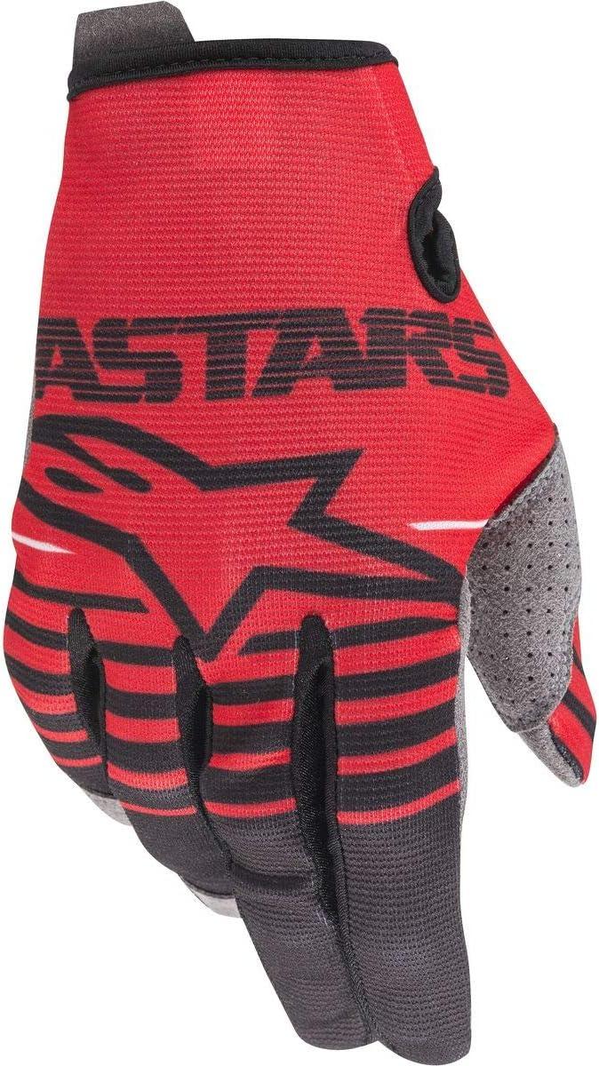 Alpinestars Mens Radar Motorcycle Riding Glove X-Large Bright Red//Black