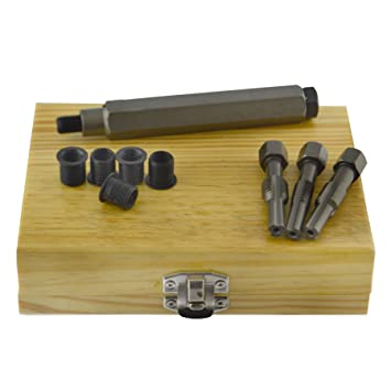AB Tools-Neilsen Bujía métrica Culata restaurador Toca el Kit de reparación de roscas M8 x 1,0 mm.: Amazon.es: Coche y moto