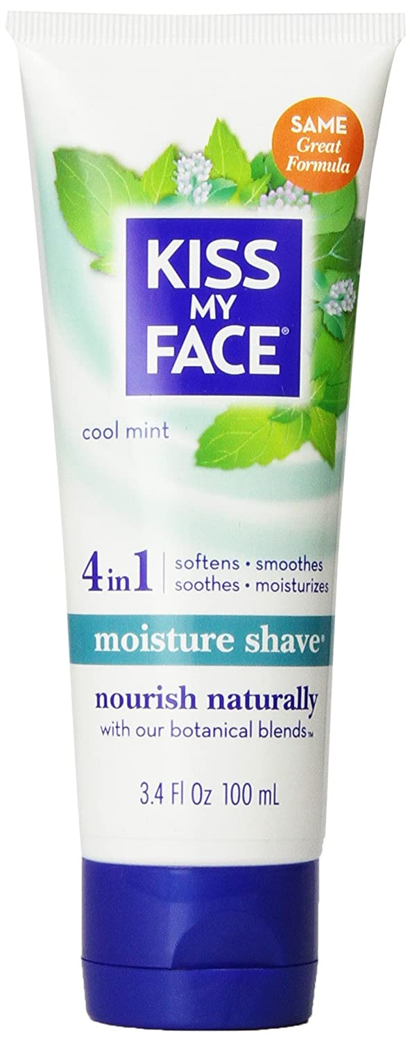 Kiss My Face Mositure Shave Cool Mint 100 ml 0903408