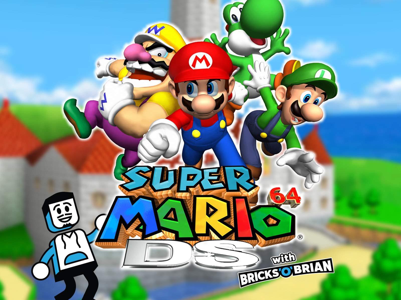 Clip: Super Mario 64 DS with Bricks 'O' Brian! - Season 1