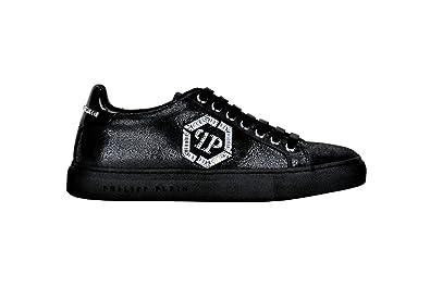 Philipp Plein A17SWSC0445, Chaussures de Ville à Lacets Pour Femme - Noir -  Noir, f2531743e37