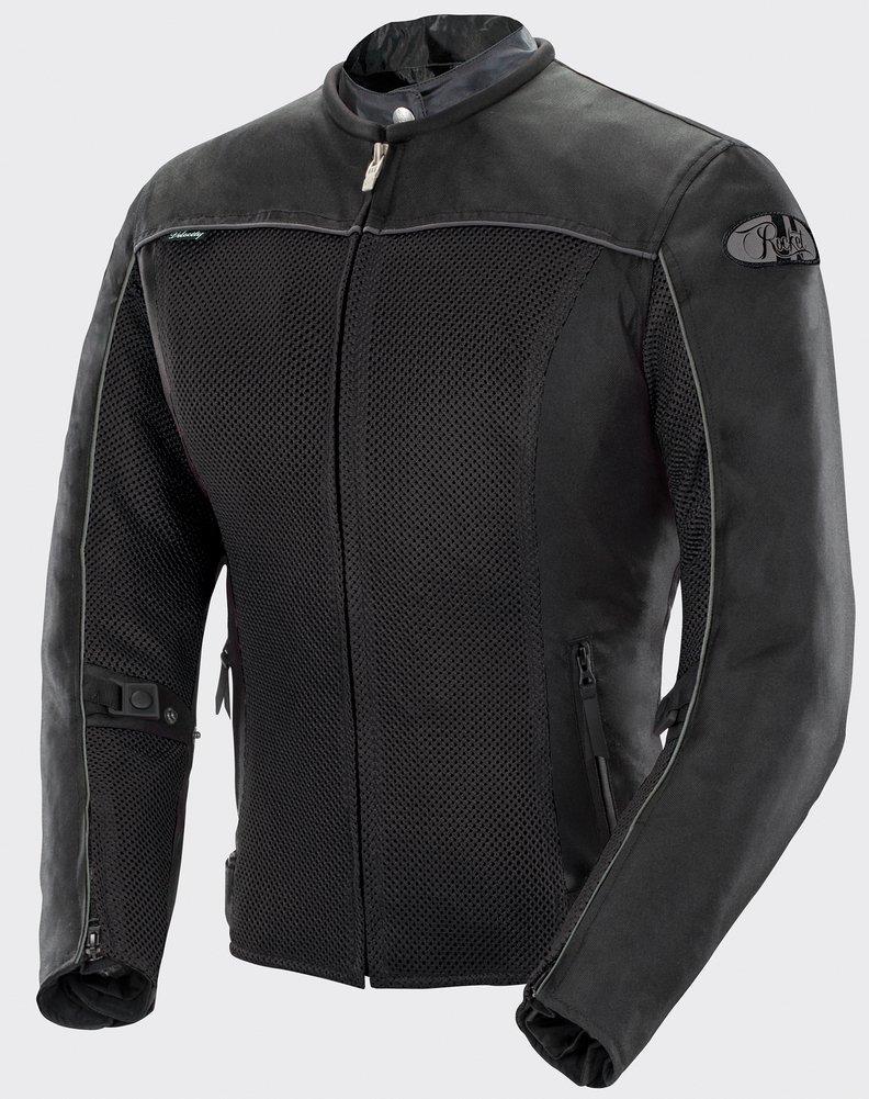 Joe Rocket Velocity - Womens' Textile Mesh Motorcycle Jacket - Black/Black - X-Large