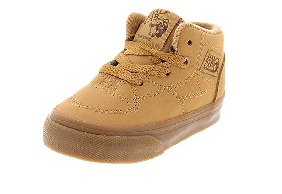 VANS - Sneaker HALF CAB vansbuck light gum, Taille:18.5 EU