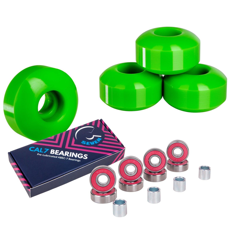 Cal 7 52mm ruedas de skate con rulemanes