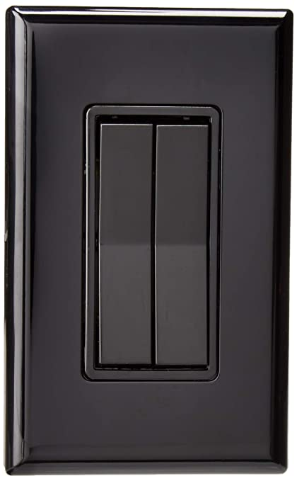 Seriøst Black - Click for Philips Hue Decora style Kinetic Dimmer switch WZ72