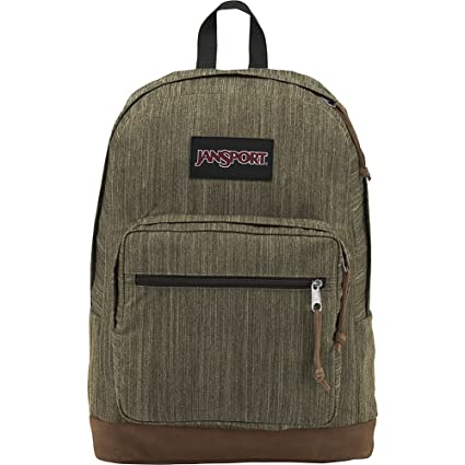 d73a470aff JanSport Unisex Right Pack Expressions Army Green Melange Backpack