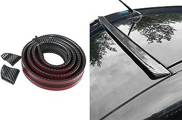 Dachspoiler Heckspoiler Spoiler Blende Lippe Carbon Schwarz Für Viele Fahrzeuge Auto
