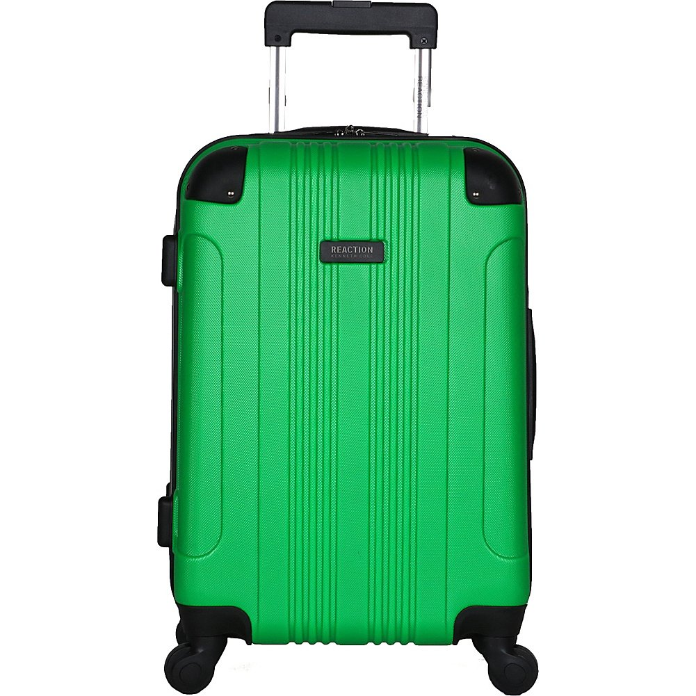 Kenneth Cole Reaction Out Of Bounds Hardside 20 4-Wheel Carry-on Spinner Luggage, Black Heritage-Kenneth Cole Luggage 5705045