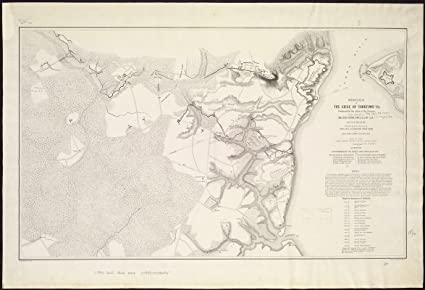 Amazon.com: Vintage Map|1862 Official plan of the siege of Yorktown on map usa chesapeake bay, map usa jamestown, map usa long island, map usa san diego, map usa richmond, map usa albany, map usa virginia, map usa maine, map usa indianapolis, map usa new orleans, map usa san francisco, map usa united states, map usa california, map usa pensacola, map usa miami, map usa san antonio, map usa baltimore, map usa portland, map usa new jersey, map usa north carolina,