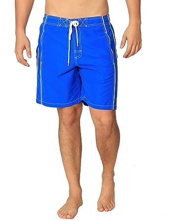 2ef7ef66381ec Ingear Boardshorts Summer Beachwear Surf Swim Trunks Casual Sport Water  Shorts (Small, Royal)