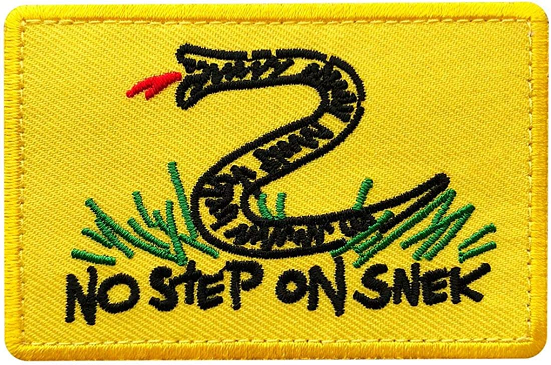 Details about  /no step on snek IR multicam morale tactical DTOM military army fastener patch