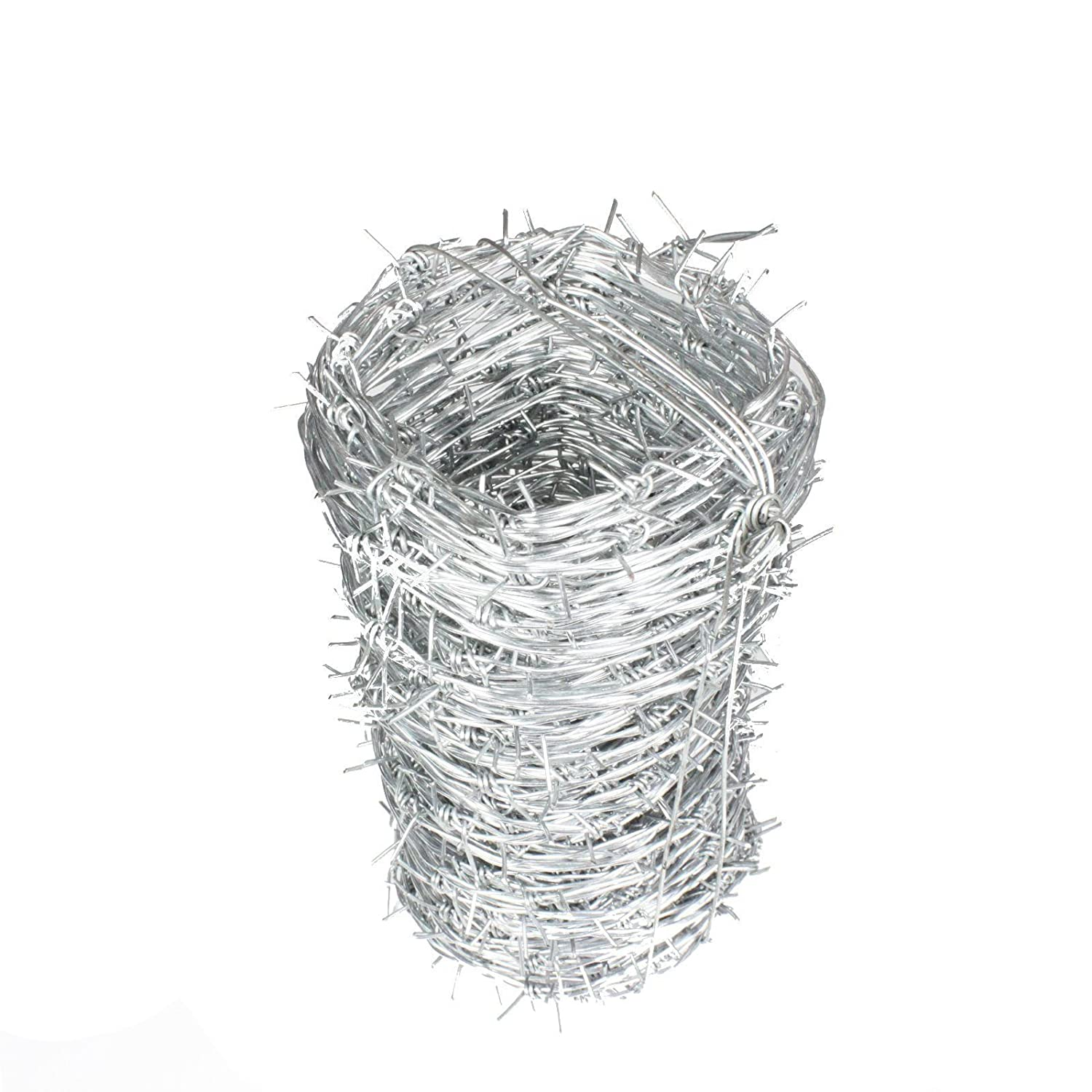 Galvanised Barbed Wire - 50 Metre Roll, Nato Wire Galvanised Locking ...
