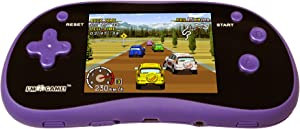 I'm Game 180 Games Handheld Player with 3-Inch Color Display, Purple