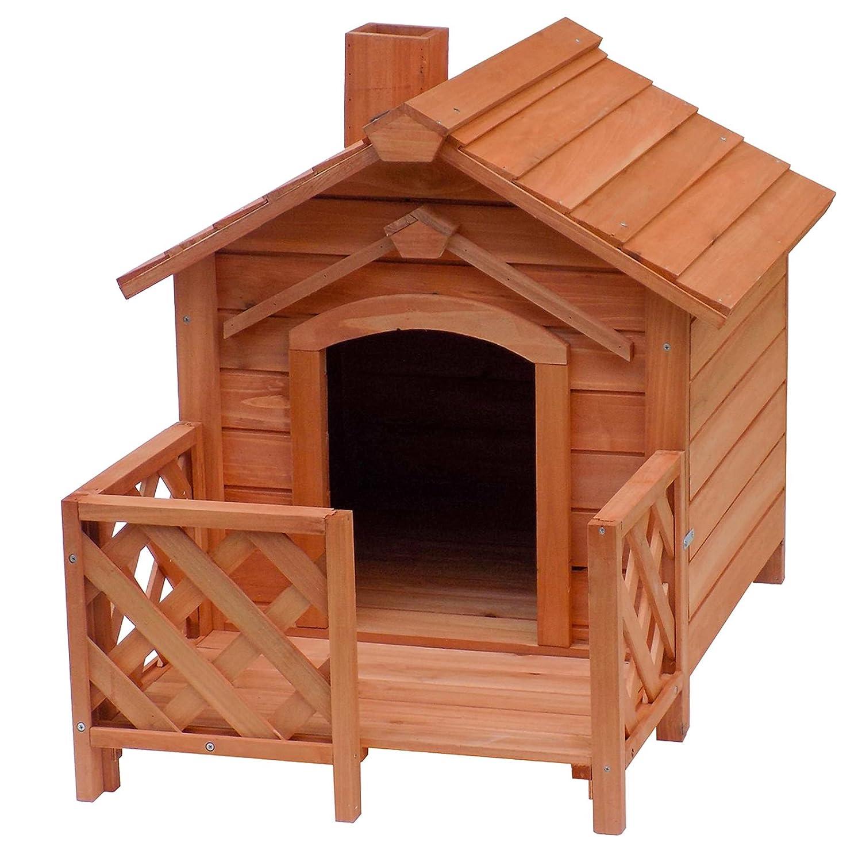 Wiltec Katzenhaus mit Veranda