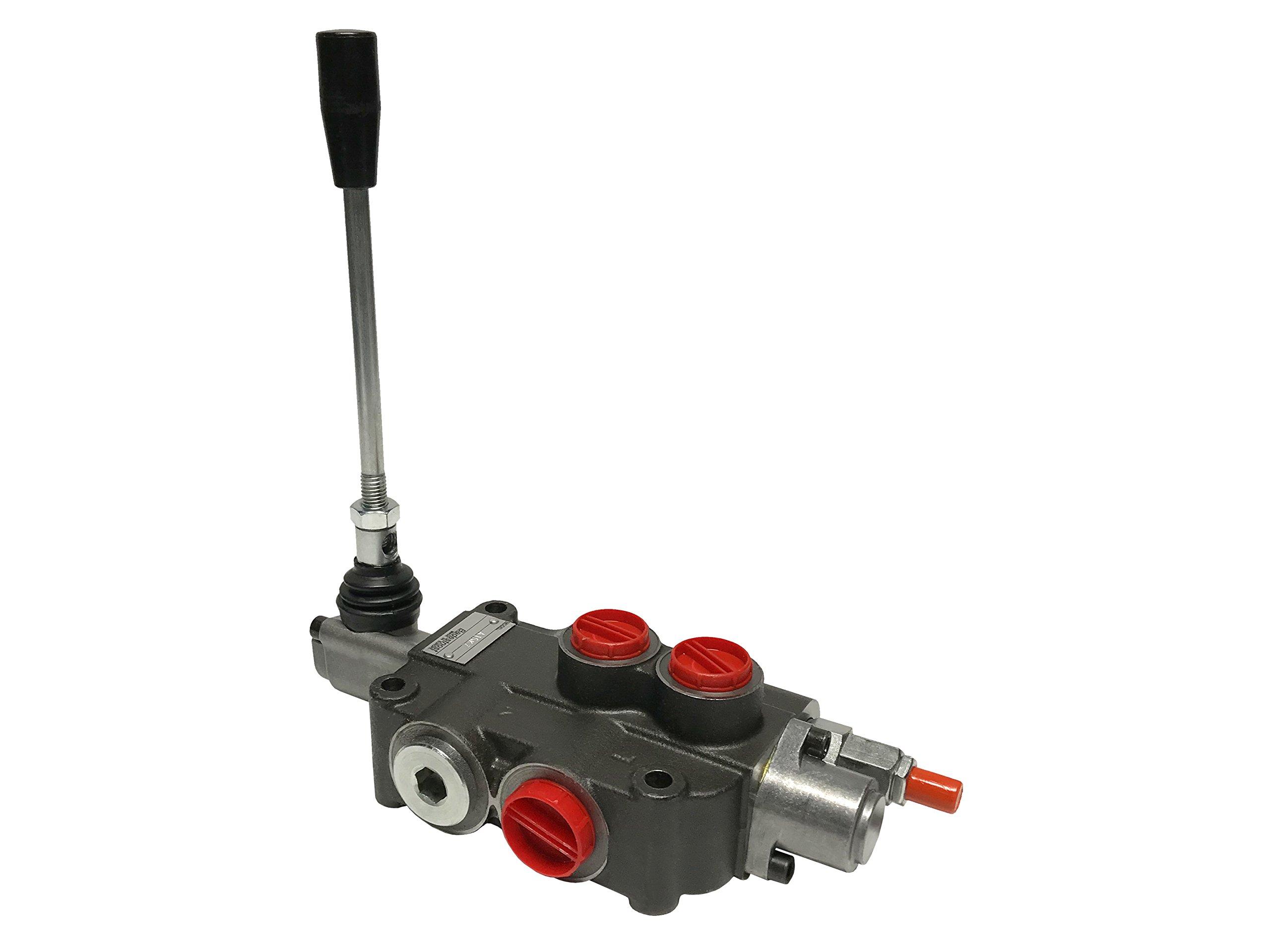 Hydraulic Directional Control Valve 1 spool 21 GPM Flow 4-way Tandem Center