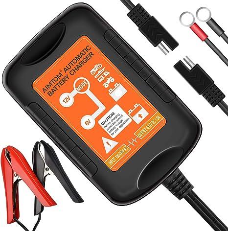 Amazon.com: AIMTOM Cargador de batería inteligente, 1,5 A ...