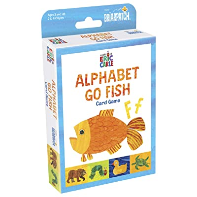 Briar Patch 1407 The World of Eric Carle Alphabet Go Fish, Card Game: Toys & Games
