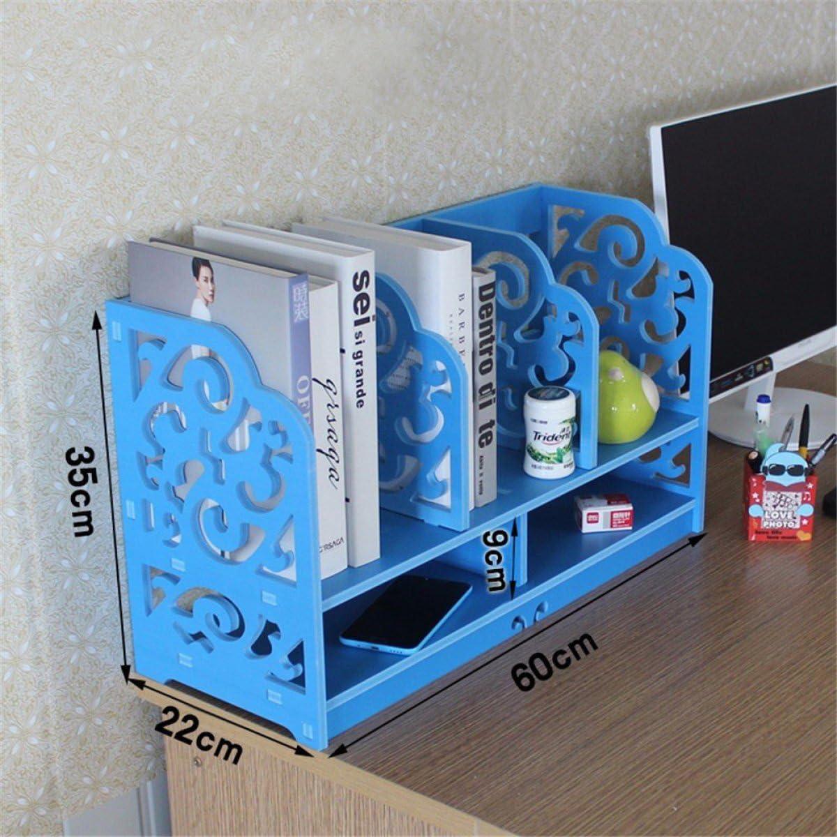 RXFRD Independiente Librero/Desk Top Organización Color Escritorio ...
