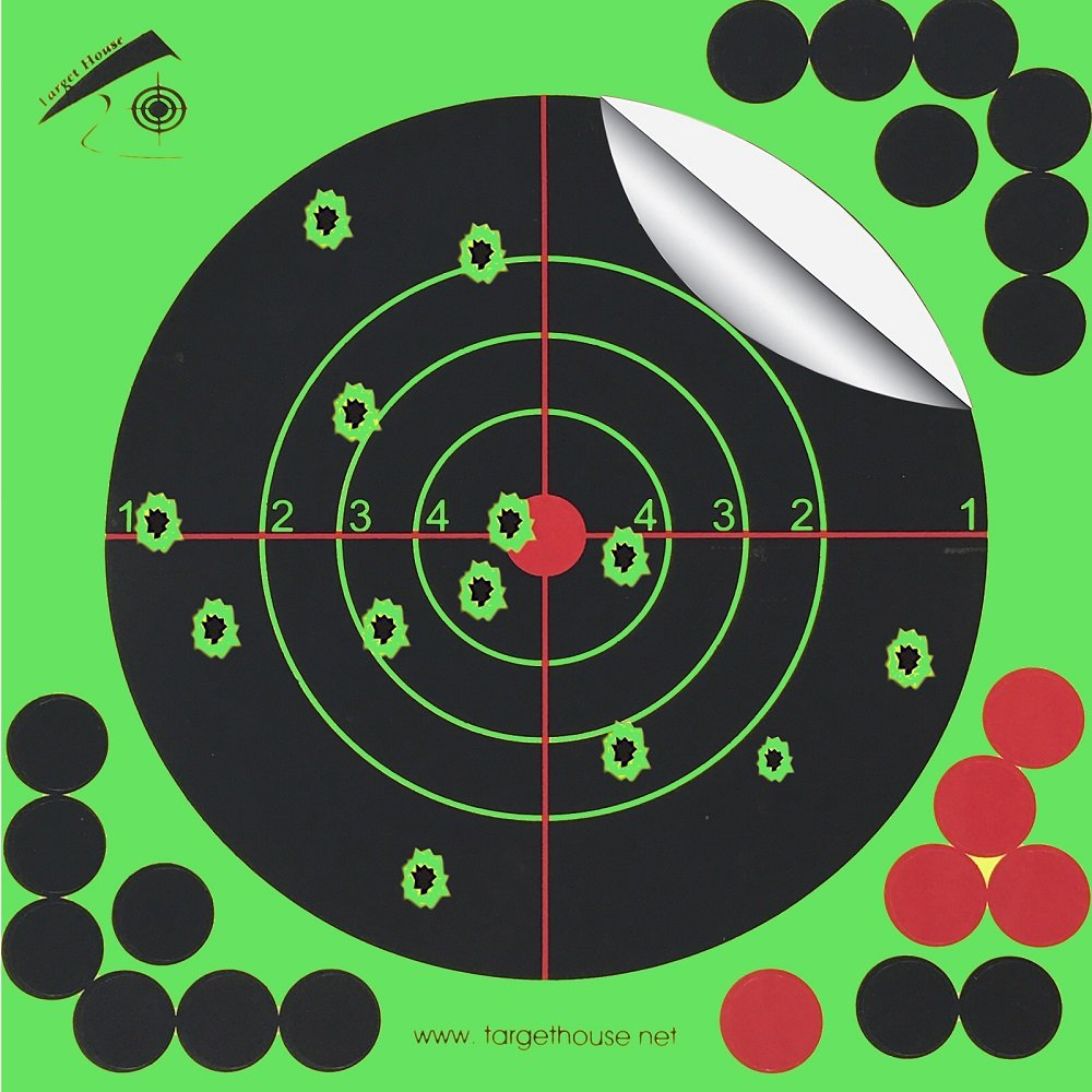 Target House 25 pcs 20, 3 x 20, 3 cm Splatter Cible Reactive Cible 3x 20 3cm Splatter Cible Reactive Cible