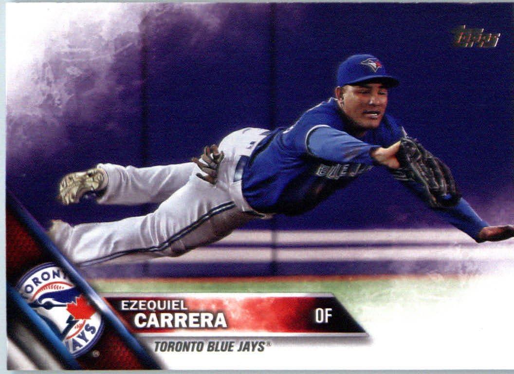 Amazon.com: 2016 Topps Update #US179 Ezequiel Carrera Toronto Blue Jays Baseball Card: Collectibles & Fine Art