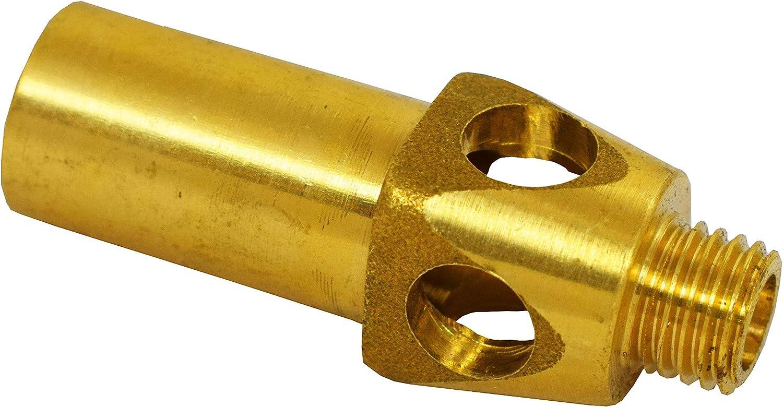 1 Diameter Knurled Head Morton KKS-54 Black Oxide Carbon Steel 12L14 Round Knob Threaded Stud 1//4-20 x 1-3//4 Length Thread
