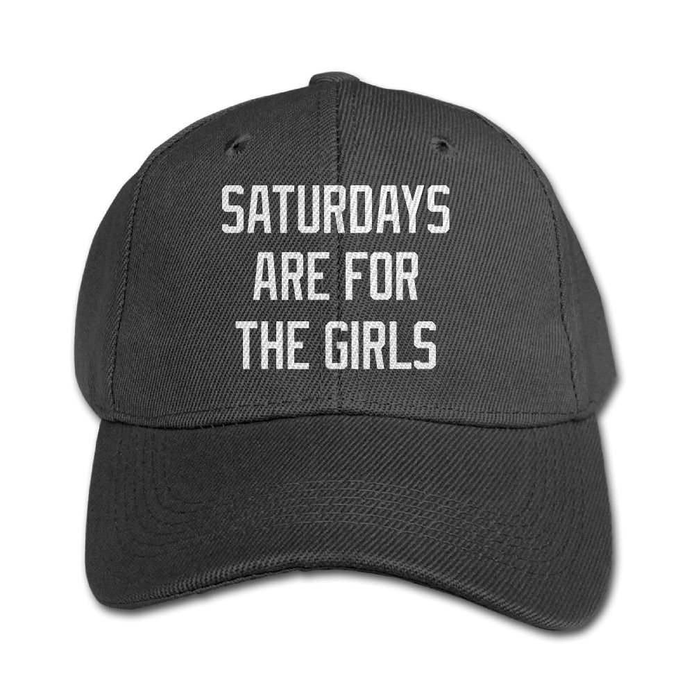 Mollie Storey Saturdays Are For The Girls Travel Sanpback Cap Hat Twill Cap For Kids Black