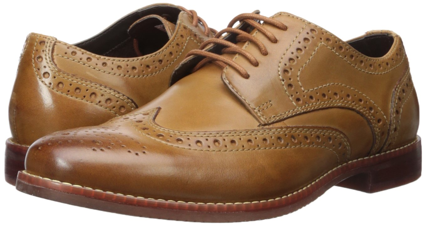 Rockport Men's Style Purpose Wing Tip Tan- 6.5 2w Us-6.5 W by Rockport (Image #6)