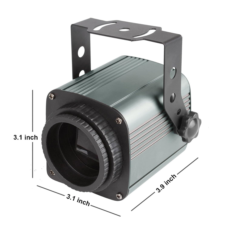 15W Warm Weiß LED Followspot Verstellbar Irisblende Scheinwerfer Par ...