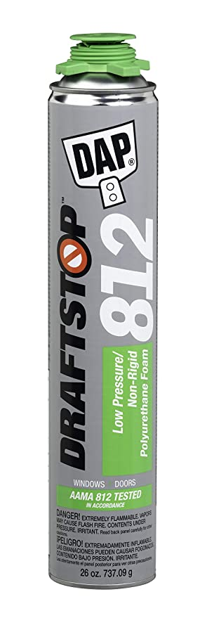 Amazon.com: Dap 80812 26 G draftstop 812 sellador de espuma ...